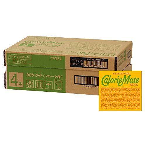 大塚製薬 カロリーメイト ブロック フルーツ 4本×30個