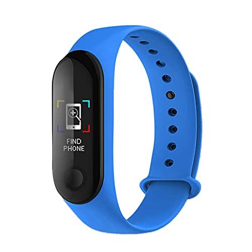 Smart Activity and Fitness Tracker – Pulsera inteligente de salud habilitada con pantalla LED, notificaciones, gran duración de la batería de 10 días e impermeable IP67
