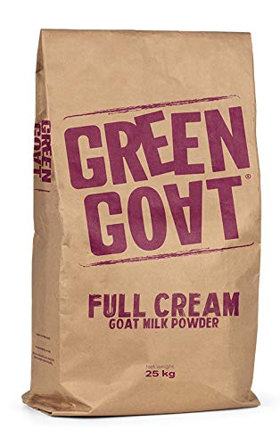 Green Goat Whole Goat Milk Powder (Bulk) 55 lbs perfect for soap makers, breeders, and all pets: puppies, dogs, kittens, and cats