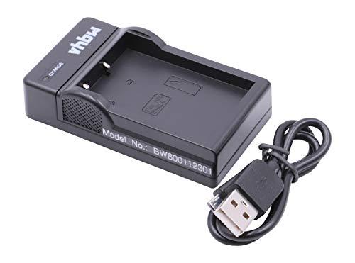 vhbw Cargador batería USB Compatible con Nikon D3000, D5000, D40, D40x, D60...