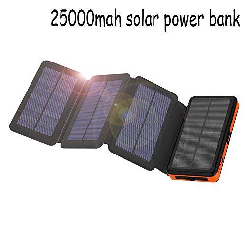 Beirich Wasserdicht Folding Solarstrom-Ladegerät 25000Mah Außen tragbare Solar-Energien-Bank