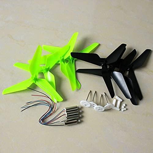 Accessori per droni Per Syma X5 X5C X5C-1 RC Quadcopter drone Accessori motori aggiornamento motore pala dell'elica Asse principale Motoriduttore Set di ingranaggi (Colore: Verde nero set)