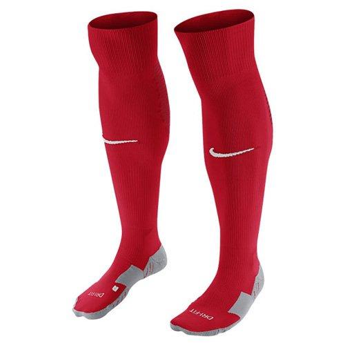Nike Team MatchFit Core OTC Sock, Calcetines de Fútbol Unisex, Rojo/Blanco, 38–42 EU (5–8 UK)