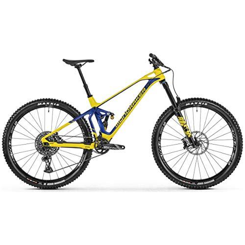 Mondraker Super Enduro SuperFoxy Carbon R 2021 Mountain Bike - Gloss Yellow/Gloss Deep Blue