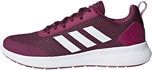 adidas Women's Element Race Running Shoe, Mystery Ruby/White/Trace Maroon, 6.5 M US