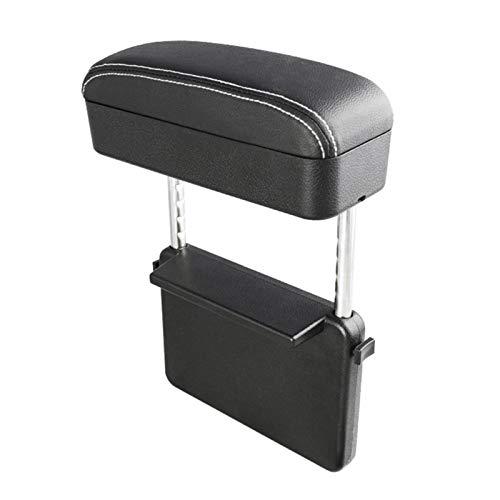 CS Caja Universal Caja Box Apoyo Codo Ajustable Centro de automóviles Arm Arm DE Arma DE Arma DE Coche DE CUCHO Auto Seguro DE Gap ANGUANIZADOR DE ARMO Caja de Descanso (Color Name : White)