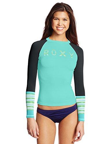 Roxy Juniors Perfect Stripe Long Sleeve Rash Guard