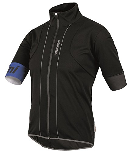 Santini 365 Reef Maillot Homme, Noir, FR (Taille Fabricant : XL)