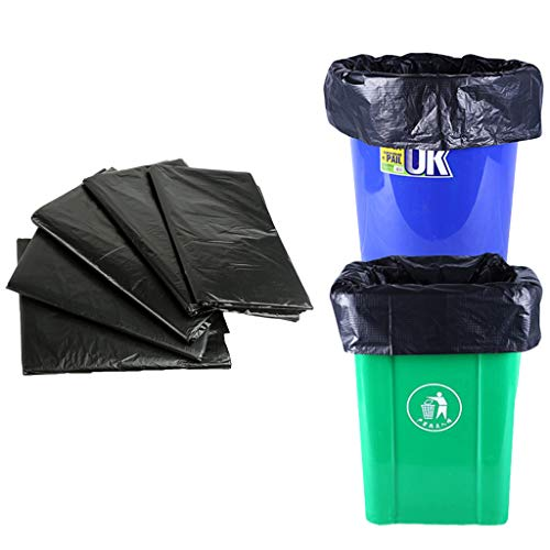 PROTAURI 40 Liter Müllsack | 50 Beutel | Reißfest Extra Stark Müllbeutel Abfallbeutel | Wasserdicht 100% Recyclingfähig Abfallsäcke | für Schrank Küche | Schwarz
