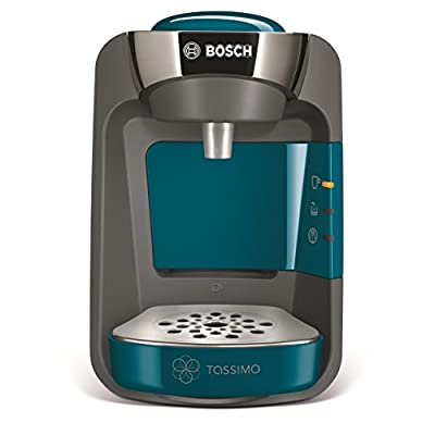 Tassimo Bosch TASSIMO Suny TAS3205GB Coffee Machine, 1300 Watt, 0.8 Litres - Blue