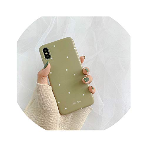 Simple Wave Point Custodia in silicone per iPhone 6S 7 8 Personalizzata Fashion Drop Proof Phone Case per iPhone X Xs Xr Max iPhone1 1