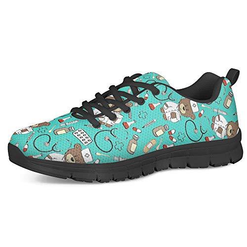 POLERO Nurse Shoes - Zapatillas de enfermera para mujer y hombre, ligeras,...