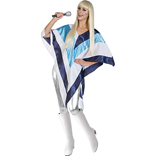 Adult Ladies Disco Poncho