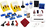 Kit de componentes de electricidad y magnetismo - variedad de materiales para...