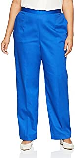 Alfred Dunner womens Plus-size Proportioned Medium Pant Pants