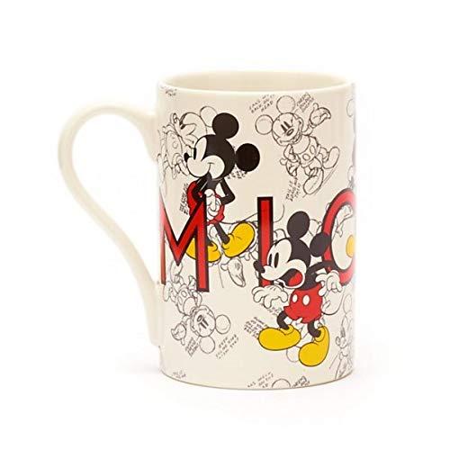 Disneyland Paris Taza con diseño de Mickey Mouse