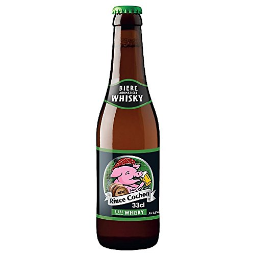 Cerveza de Rince Cochon aromatizada con whisky 8.5 ° 33 cl 8 x 33 cl