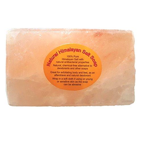 Savon/barre rectangulaire aux cristaux de sel Himalaya