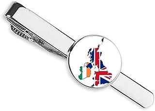 ربطة عنق إتحاد جاك المملكة المتحدة بريطانيا خريطة أيرلندا البلد شريط أعمال