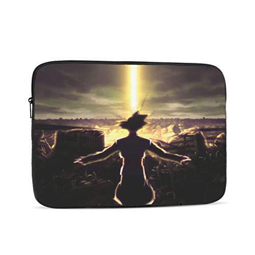 NOVCO Dragon Ball Black Goku Laptop Sleeve Notebook Computer Bag Pocket Tablet Briefcase Multiple Sizes 10 Inch
