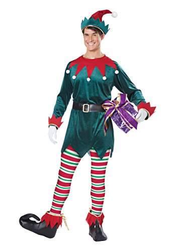Adult Christmas Elf Costume Small/Medium -  California Costumes