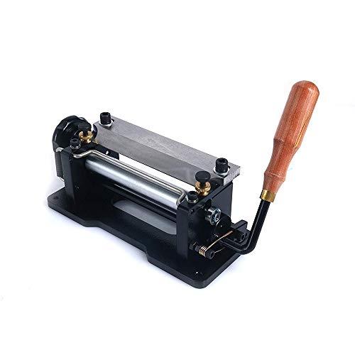 TOPQSC Lederspaltmaschine Leather Splitter Machine Manual Leather Splitterauch für BioThane (806P)