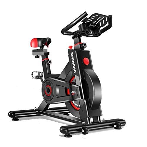 GZ Bicicletas de Interior de Ejercicios, Bicicletas de Spinning, Bicicletas Ciclismo Indoor Cardio Fitness Equipment con Wrapped-Completa del Volante, Digital Peso del Reloj Capacidad 330 Libras