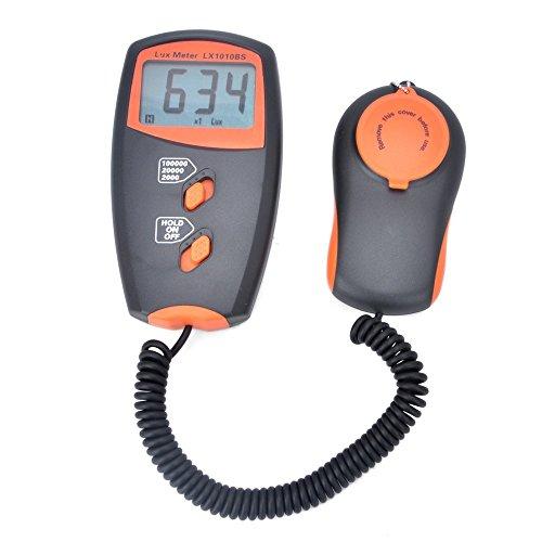 Belichtungsmesser Handheld Digital Lux Meter LX1010BS Lichtmessung Bereich: 1~100.000Lux