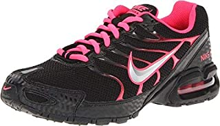 newest 531ea f8748 Nike Women's Air Max Torch 4 Running Shoe Black/Metallic Silver/Pink Flash  Size