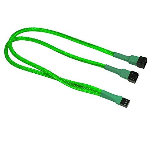 Nanoxia Molex (3-pin) - 2x Molex (3-pin) - 0.3m