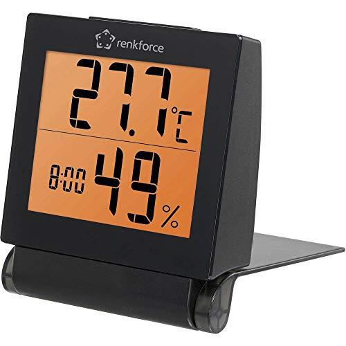 Renkforce Thermo-/Hygrometer Schwarz