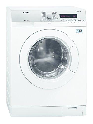 AEG L76485DFL Libera installazione Carica frontale 8kg 1400Giri/min A+++ Bianco lavatrice