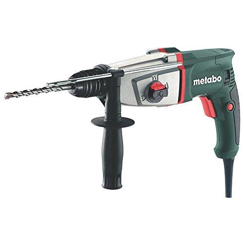 Metabo 6.06157.00 606157000-Martillo Ligero SDS-Plus KHE 2644 800W con maletín, 800 W, 240 V, Negro