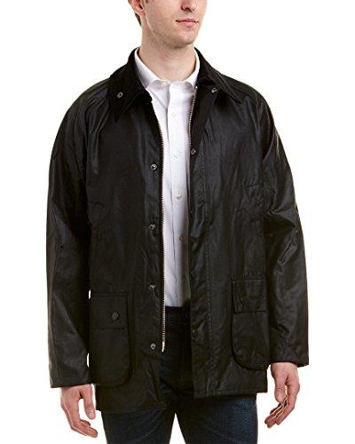 Barbour Herren Bedale Wax Jacket Jacke, Schwarz (Black 000), X-Large (Herstellergröße: 44)