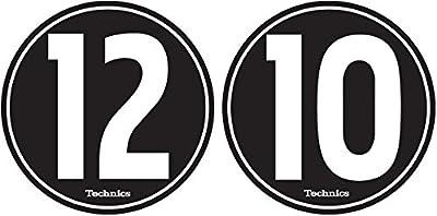 Technics 60604 12-10 Design Slipmat - Black/White