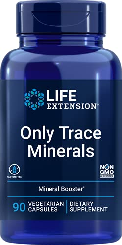 Life Extension Only Trace Minerals - A Daily Dose of Zinc, Chromium, Boron & More – Non-GMO, Gluten-Free - 90 Vegetarian Capsules