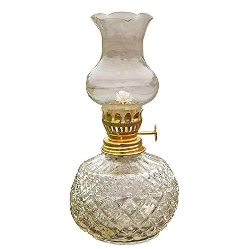 Lámpara de vela de luz nocturna LED inalámbrica con control de atenuación Lámpara de aceite de queroseno Linterna de vidrio tradicional vintage Nostálgico Queroseno Citronela Luz para lectura al aire