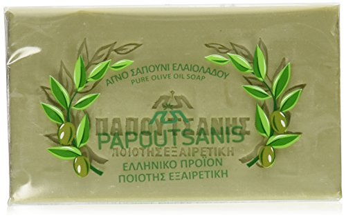 Olive Oil Soap, Papoutsanis, CASE (6 x 125g) by Papoutsanis