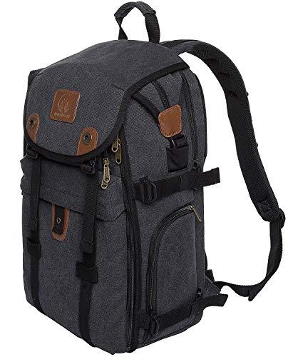 """DIGIANT DSLR Camera Backpack, 21"""" Canvas"""
