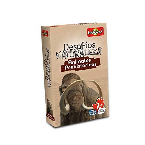Bioviva- Desfios Naturaleza: Animales Prehistoricos - Español, Color multicolor (Asmodee Adebinc0018) , color/modelo surtido