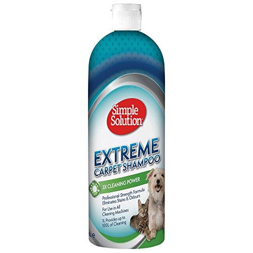 Simple Solution Shampooing Extreme Carpet Solution 1l pour Chien
