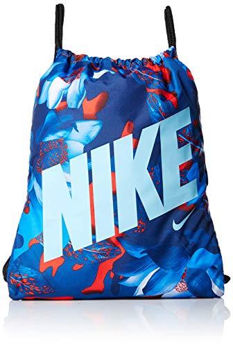 Nike Ba5262 - Bolsa de Cuerdas, Habanero Red/Black/Blue Gaze, 20 cm