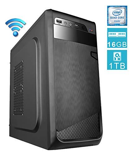 DILC Airo Plus Pc Desktop Intel Quad Core 2.00 ghz Ram 16 gb Hard Disk 1 tb WiFi Masterizzatore