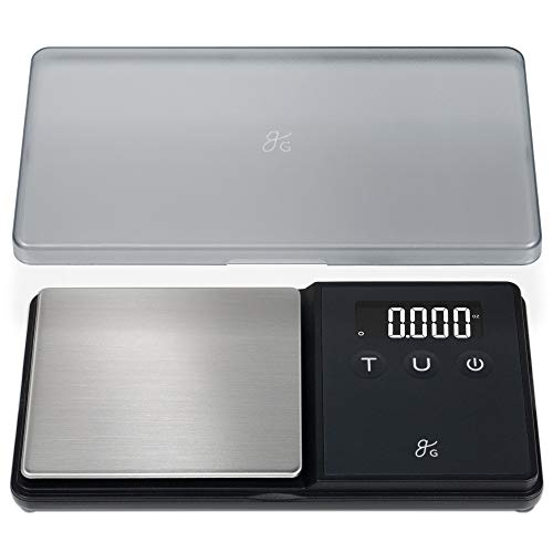GreaterGoods Digital Pocket Scale, Gram Scale and Ounce Scale, 750g X .1g Accuracy