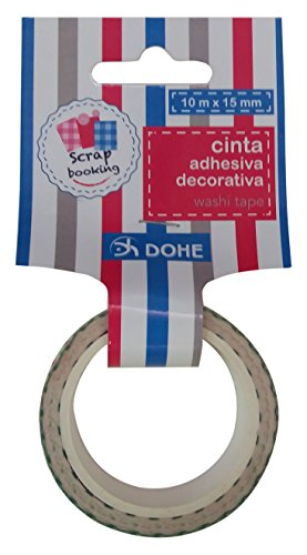 DOHE 18061 Ruban décoratif Motif Dots, Multicolore