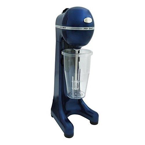 Johny Frappe Maker - Mezclador de bebida comercial de 400 vatios 2 velocidades - Batidor eléctrico de leche / AK/2-2T-RAL (azul metálico)