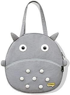 Cat Pattern Single Shoulder Bag Shopping Handbag Student Canvas Bag