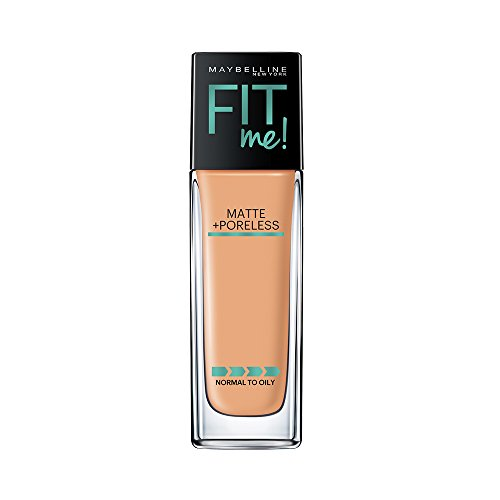 Maybelline New York Fit Me Matte+Poreless Liquid Foundation, 230 Natural Buff, 30ml