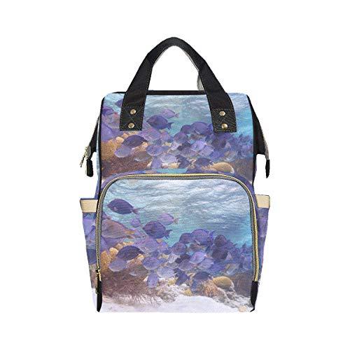 Belle sous-marine World Life sacs à couches sac à dos maman papa changeant grande capacité multifonction Simple sac à couches sac à dos pour bébé fille garçon