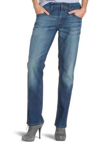 MUSTANG Jeans Damen Jeans Hoher Bund, 3561-5163, Gr. 32/32, Blau...